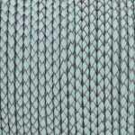 Geflochtenes Lederband (50cm), 3mm breit, rund, jade-türkis