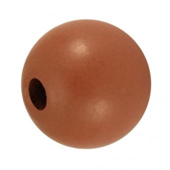 Holzperle, 20mm, braun