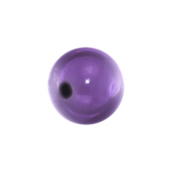 Magic / Miracle bead, 8mm, rund, lila lila