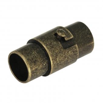 Magnetverschluß, 18X10mm, Loch-Ø 5mm, Metall, b...