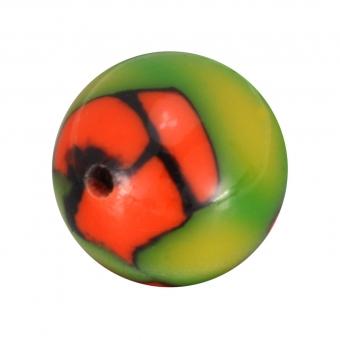 Fimoperle, 11mm, rund, hellgrün