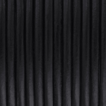 Lederband, 50cm, 6mm breit, schwarz