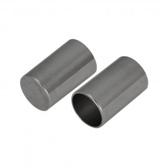 Schmuckkappe, Loch-Ø 5mm, Metall, 10mm, silberf...