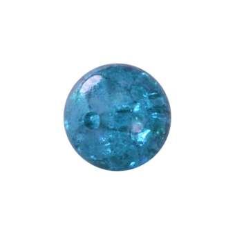 Kristallperle aus Glas, 4mm, safirtürkis safirtürkis