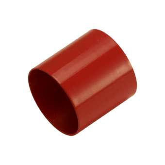 Endkappe, Loch-Ø 8 mm, 8,5X9,5 mm, rot rot, Loch-Ø 8mm