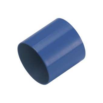 Endkappe, Loch-Ø 8 mm, 8,5X9,5 mm, safirblau safirblau, Loch-Ø 8mm
