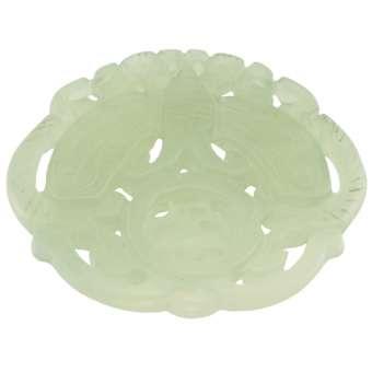 Neue Jade, 55mm, Schmeterling, schilfgrün