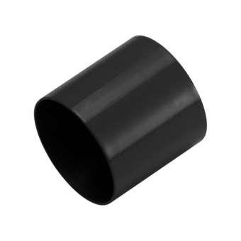 Endkappe, Loch-Ø 10mm, 10,5X12mm, schwarz schwarz, Loch-Ø 10mm