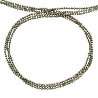 Kette, 20cm, 1,5mm breit, bronzefarben bronzefarben