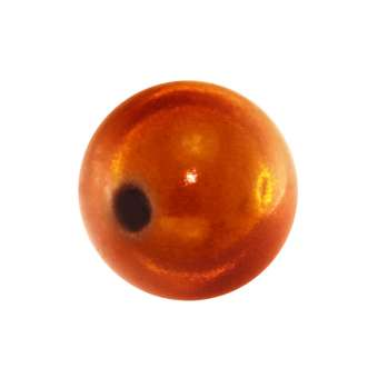 Magic / Miracle bead, 10mm, orange orange