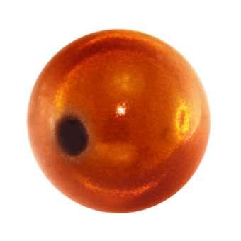 Magic / Miracle bead, 14mm, orange orange