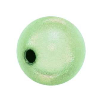 Magic / Miracle bead, 12mm, rund, hellgrün hellgrün