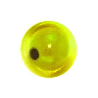 Magic / Miracle bead, 10mm, rund, gelb gelb