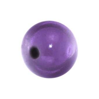 Magic / Miracle bead, 10mm, lila lila