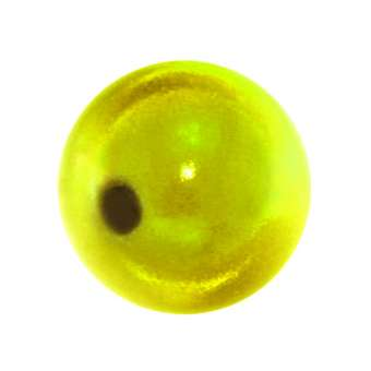 Magic / Miracle bead, 12mm, gelb gelb