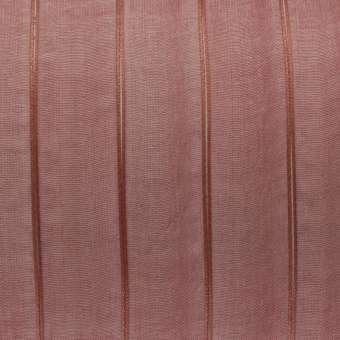 Organzaband, 100cm, 15mm breit, rot-orange kupferfarben rot-orange kupferfarben