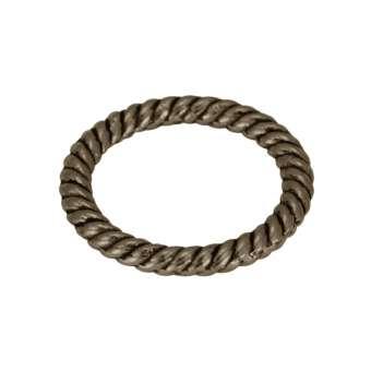 Zierring, Metall, 13mm, bronzefarben bronzefarben