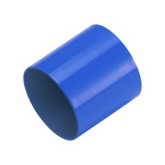Endkappe, Loch-Ø 10mm, 10,5X12mm, blau blau, Loch-Ø 10mm