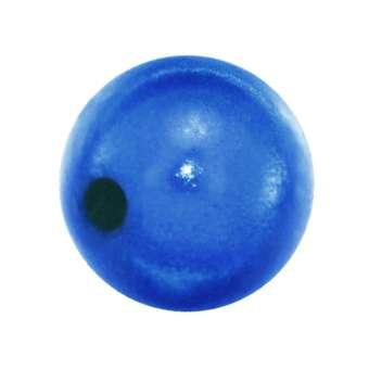 Magic / Miracle bead, 12mm, rund, blau blau
