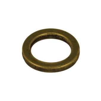 Zierring, Metall, 14mm, bronzefarben bronzefarben