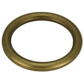 Großer Zierring, Metall, 29mm, bronzefarben bronzefarben