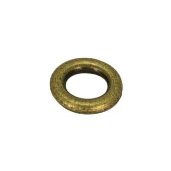 Zierring, Metall, 8mm, bronzefarben bronzefarben