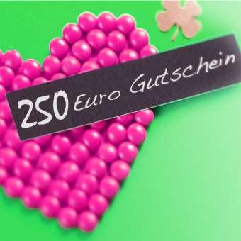 Gutschein 250 Euro 250 Euro Gutschein