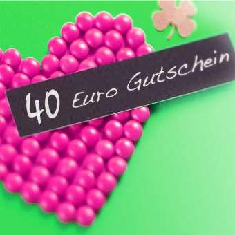 Gutschein 40 Euro 40 Euro Gutschein