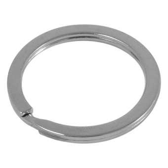 Großer Schlüsselring, Metall, 30 mm, silberfarben