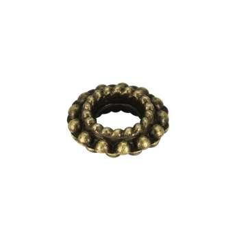 Metallspacer, 8mm, bronzefarben bronzefarben