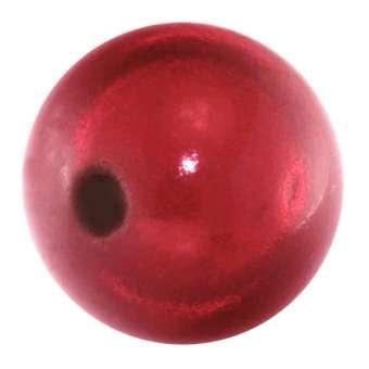 Magic / Miracle bead, 16mm, rot rot
