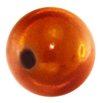 Magic / Miracle bead, 16mm, orange orange