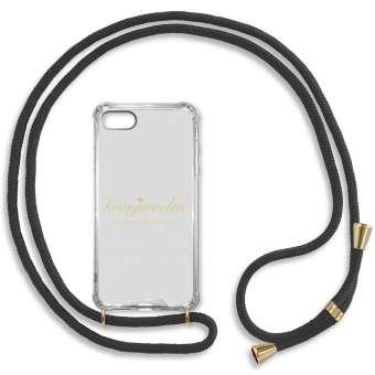 iPhone 7 und 8 Handy-Hülle, schwarz-gold iPhone 7 und 8, schwarz-gold