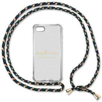 iPhone 7 und 8 Handy-Hülle, camoflage-gold iPhone 7 und 8, camoflage-gold