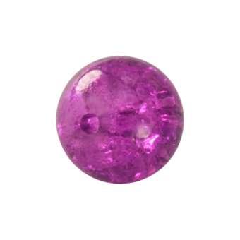 Kristallperle aus Glas, 6mm, lila farben lila farben