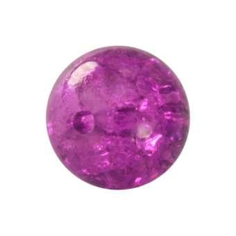 Kristallperle aus Glas, 8mm, lila farben lila farben
