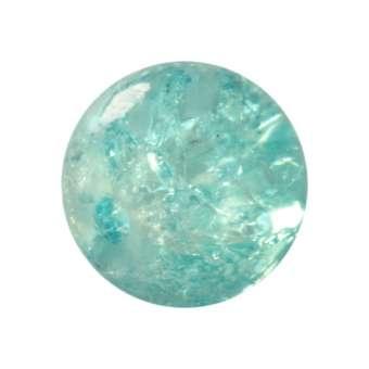 Kristallperle aus Glas, 10mm, hellblau hellblau
