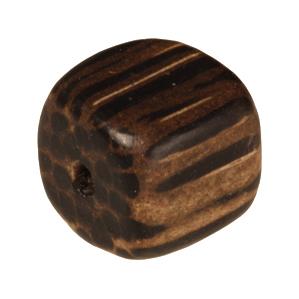Holzperle (Old Palmwood), 8mm, Würfel, braunen Old Palmwood, braunen