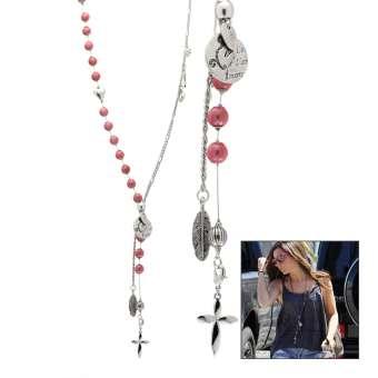 Anleitung Halskette mit Perlen und Chrams
