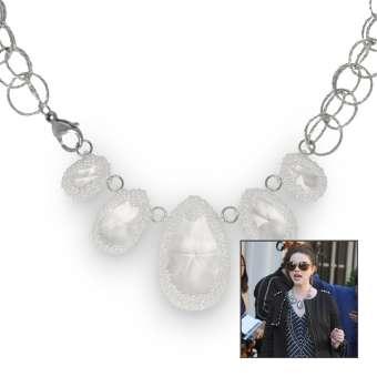 Anleitung Halskette mit Swarovski Anhänger