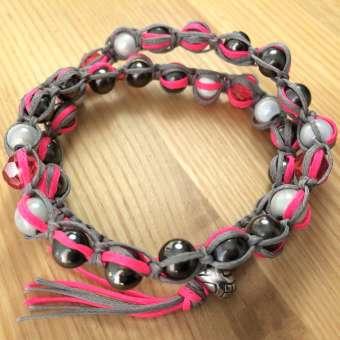 Armband im Chan Luu Style, Designset mit Anleitung