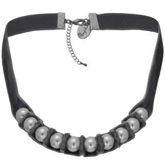 Perlenkette aus Samt, Designset mit Bastelanleitung