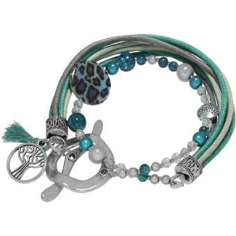 Armband mit Knebelverschluss, Designset mit Bastelanleitung