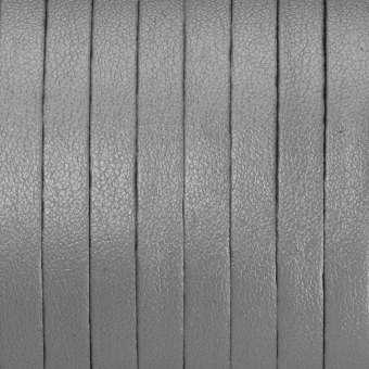 Schmuckband (50cm), 6,5mm breit, 1mm stark, silberfarben silberfarben