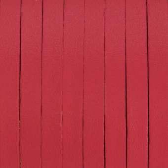 Schmuckband (50cm), 6,5mm breit, 1mm stark, rot rot