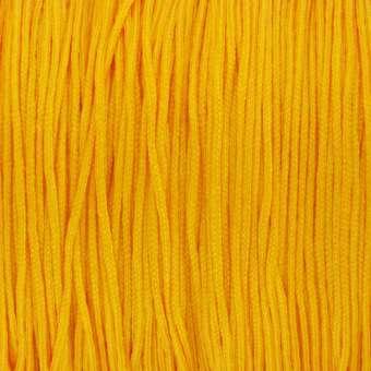 Satinband (100cm), 0,8mm breit, rund, sonnengelb sonnengelb