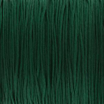 Satinband (100cm), 0,8mm breit, rund, dunkelgrün dunkelgrün