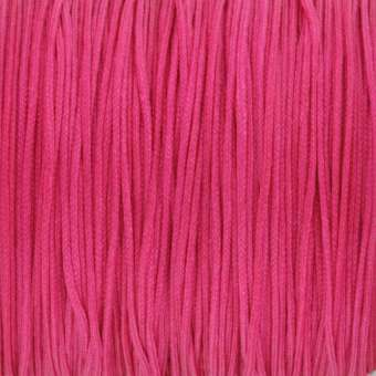 Satinband (100cm), 0,8mm breit, rund, pink pink