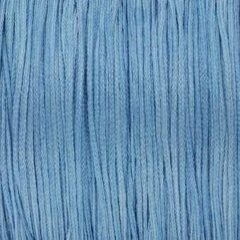 Satinband (100cm), 0,8mm breit, rund, hellblau hellblau