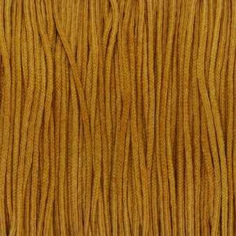 Satinband (100cm), 0,8mm breit, rund, honigfarben honigfarben